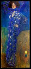 After Gustav Klimt Emily