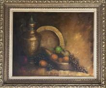Original Oil on canvas by Colero