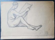 Aristide Maillol (1861-1944) Pencil Drawing 5