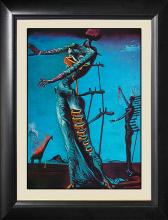 Salvador Dali-Woman with Drawers LImited Edition