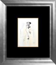 Sammy Davis Jr. by Al Hirschfeld-Limited Edition Original Lithograph