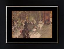 Hand embellished on canvas limited edition after Edgar Degas