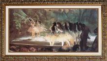 Edgar Degas Ballet at the Paris Opera