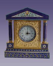 Cloisone Style Clock  Approx 10 inches tall.