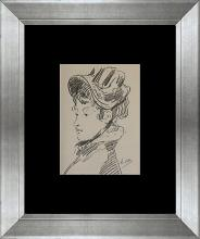 Edouard Manet Madame Guillemet Color Plate Lithograph Over 35 years ago