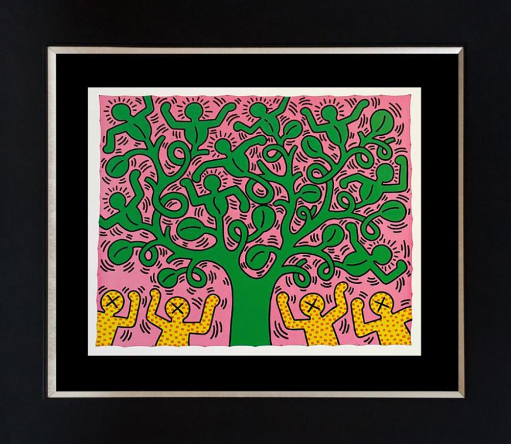 Keith Haring Color Plate Lithograph  1982