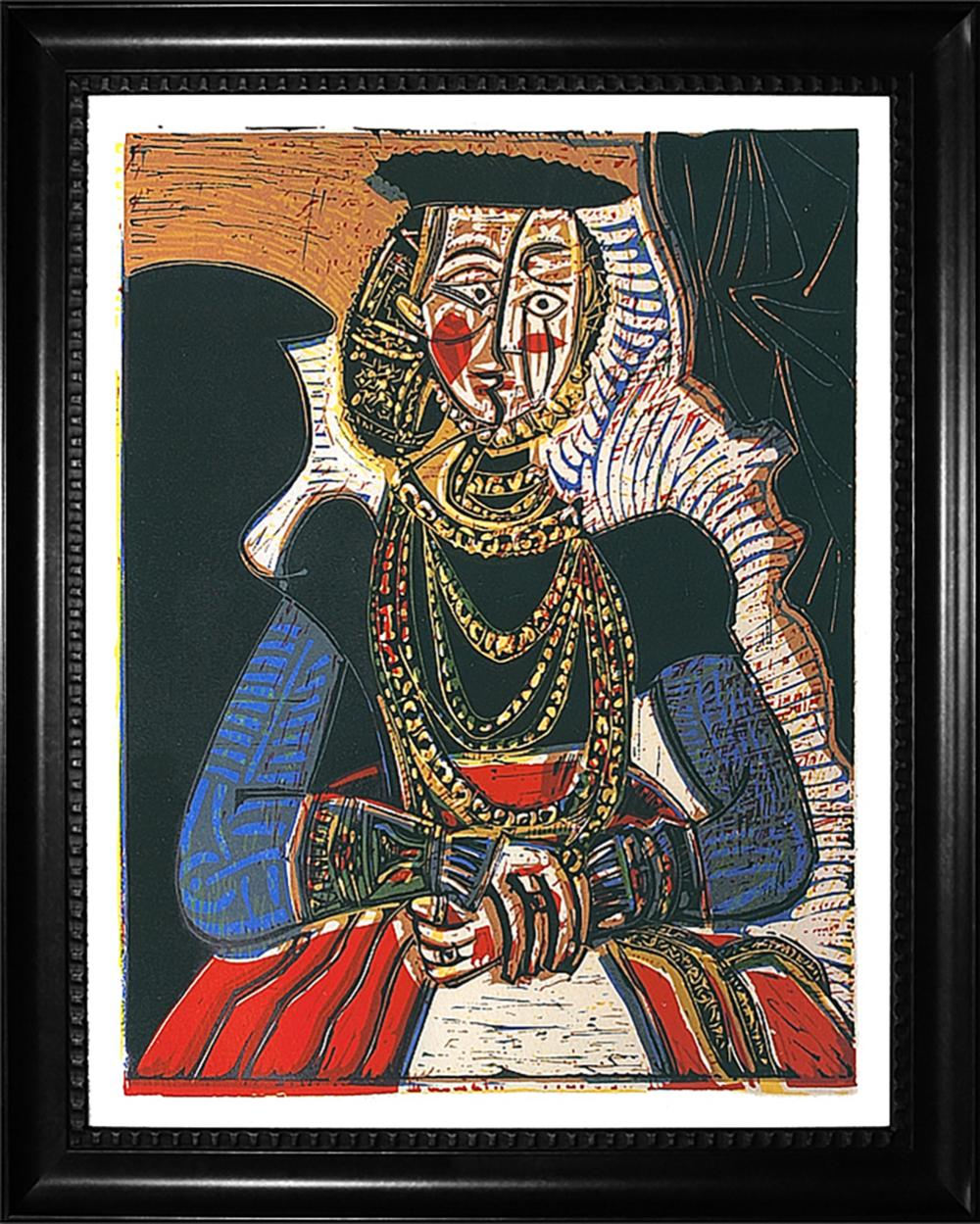Pablo Picasso Limited Edition embellished canvas