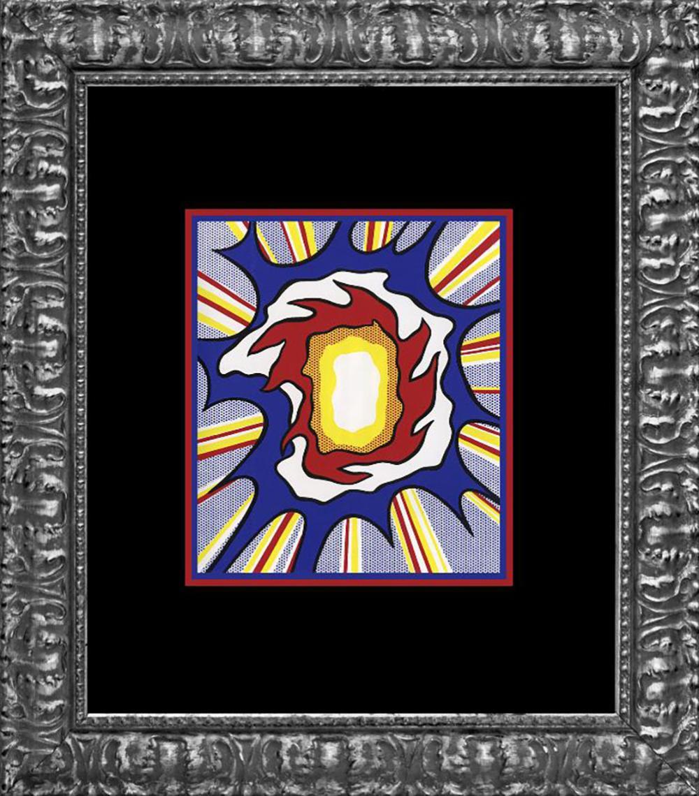 Roy Lichtenstein 1996 Explosion Lithograph