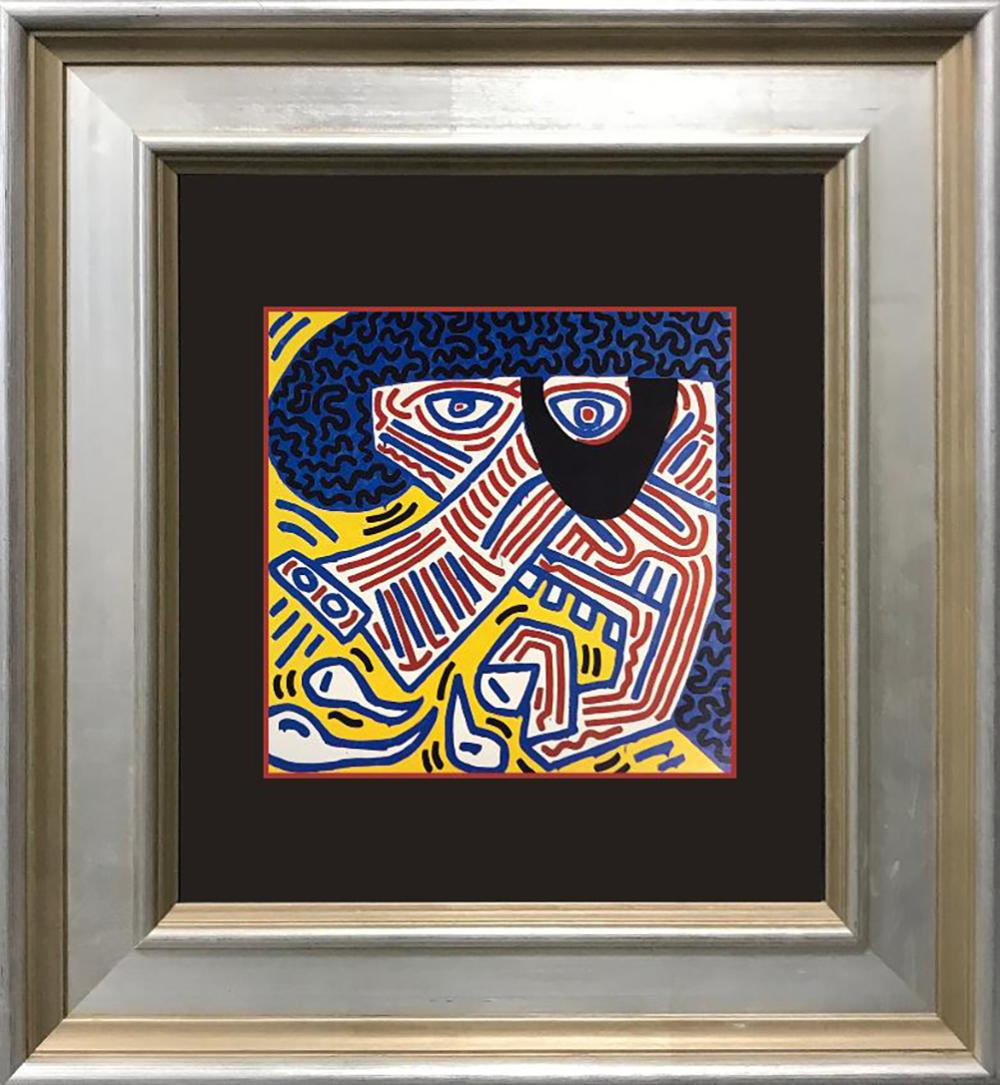 Keith Haring color plate Lithograph