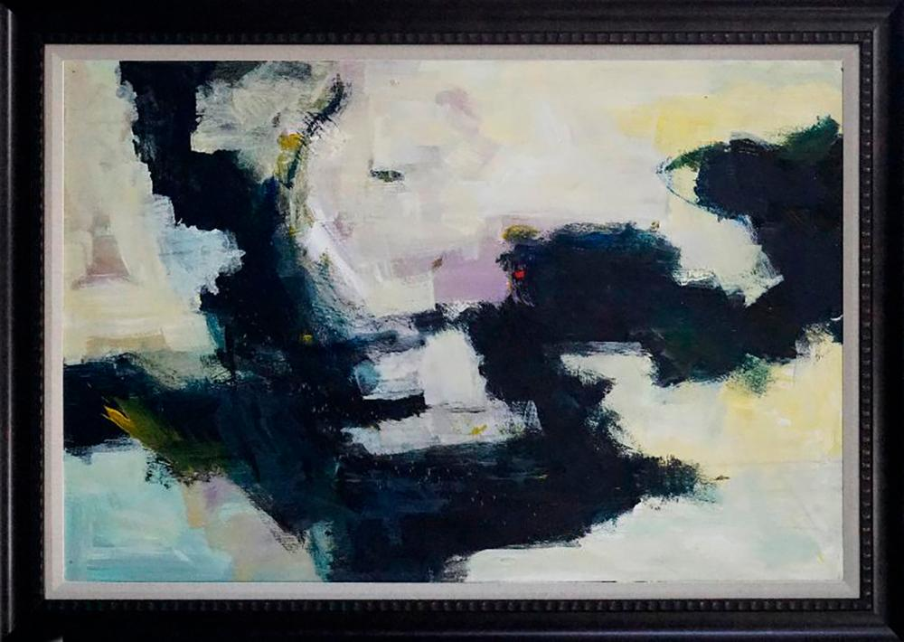 Michael Schofield original abstract 40x30 inches approx. image size.