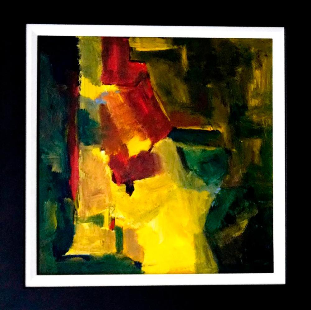 Michael Schofield original on canvas 24x24 Approx. Image