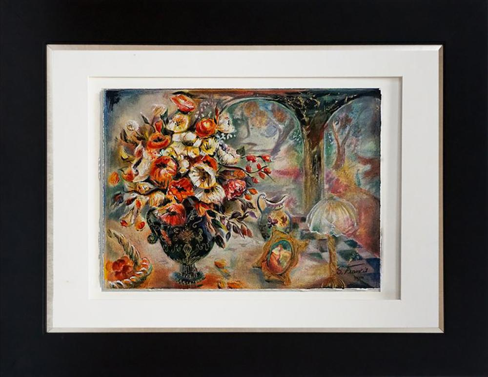 Limited Edition Serigraph by S. Francis