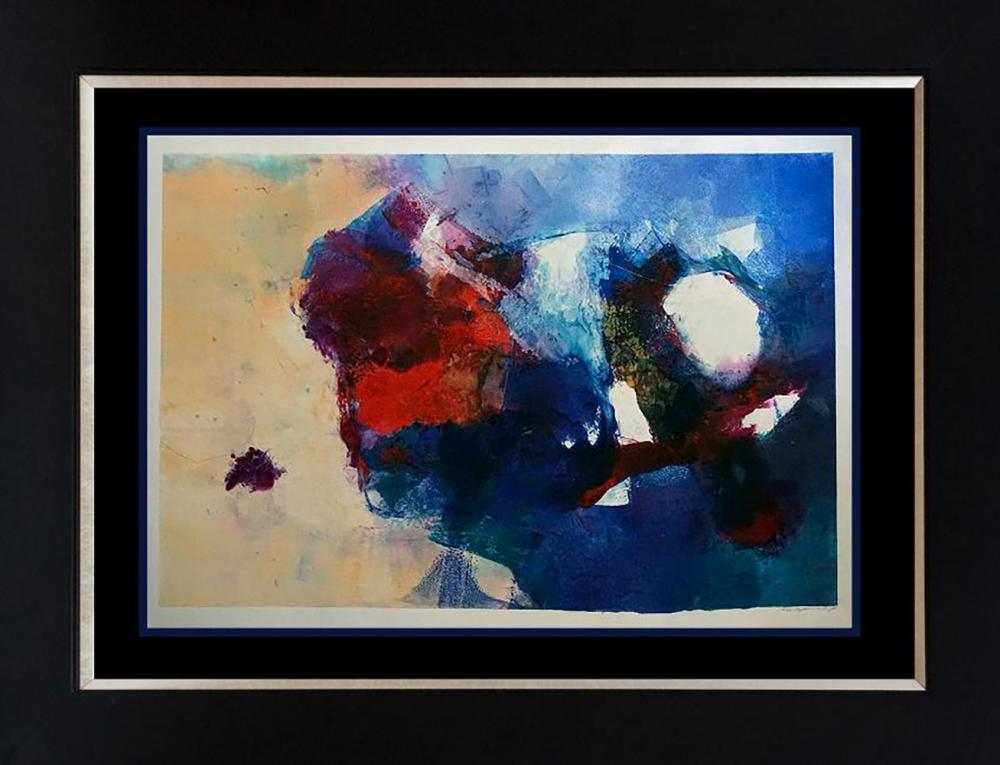 Original monoprint by Michael Schofield One of a kind