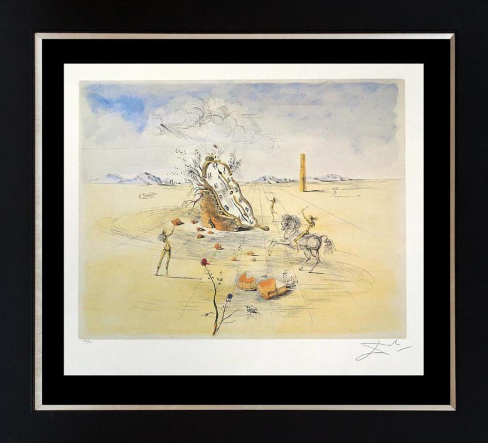 Cosmic Horseman by Salvador Dali Limited Edition Lithograph