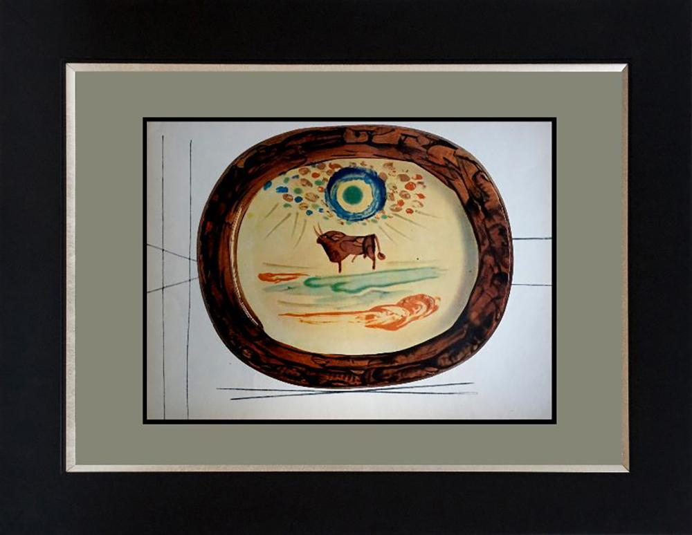 Pablo Picasso embossed Limited Edition serigraph