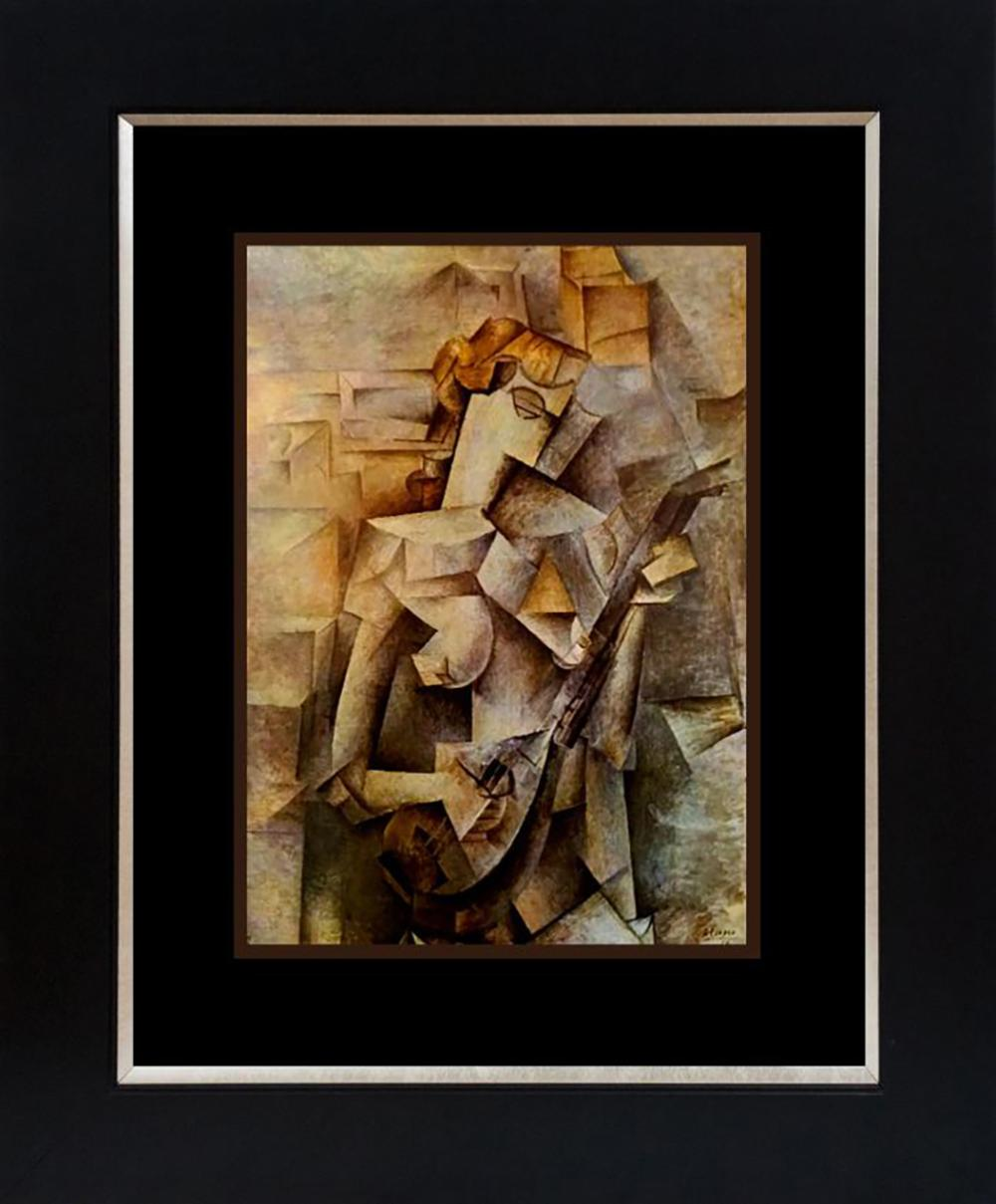 Pablo Picasso Color Plate Lithograph