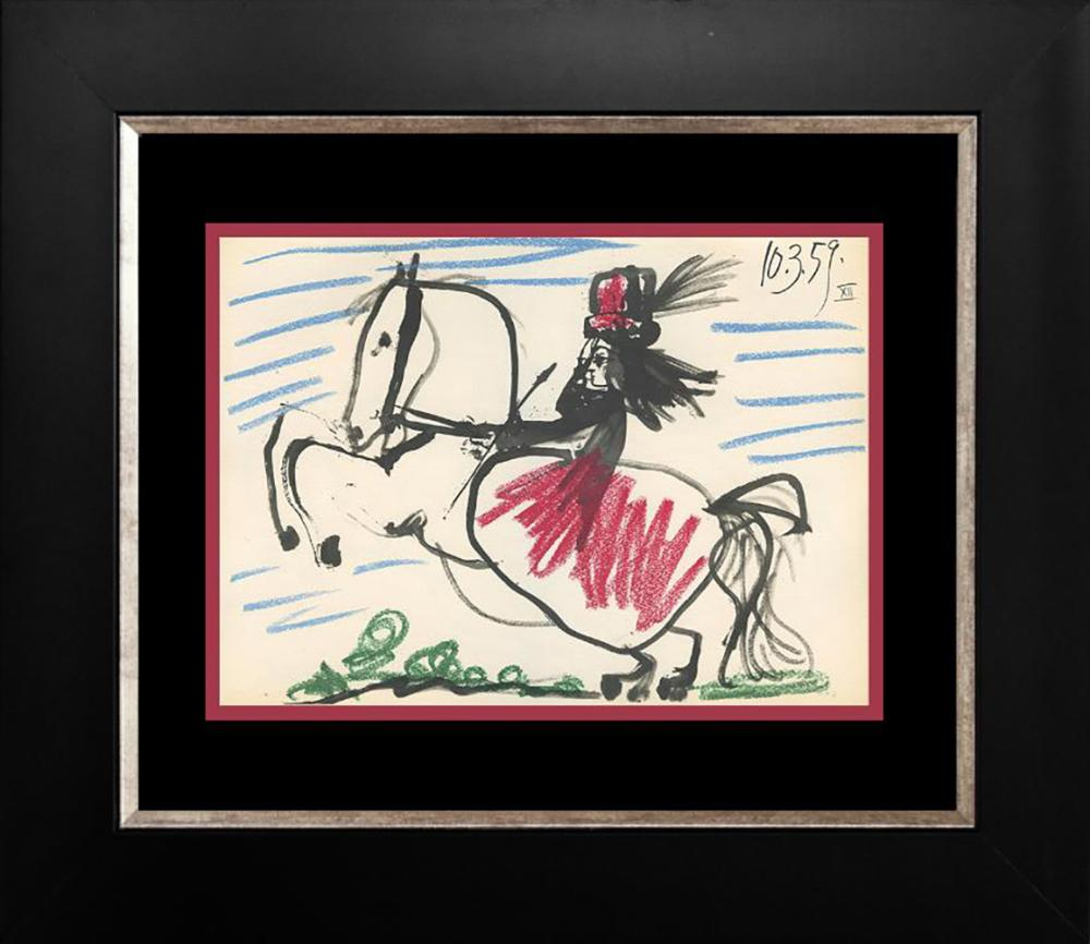 Pablo Picasso Lithograph from 1961