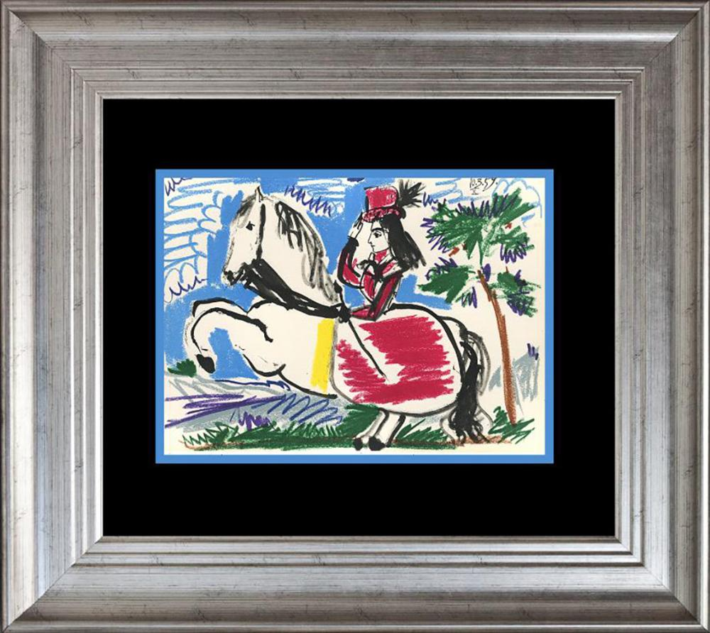 Pablo Picasso Color Plate Lithograph from 1991