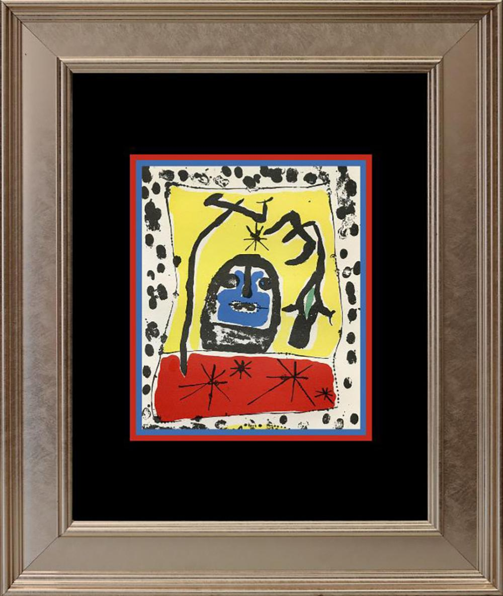 Joan Miro Lithograph from the Maeght Foundation from 1959
