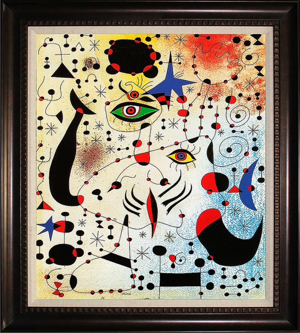 AfterJoan Miro Ciphers and Constellations