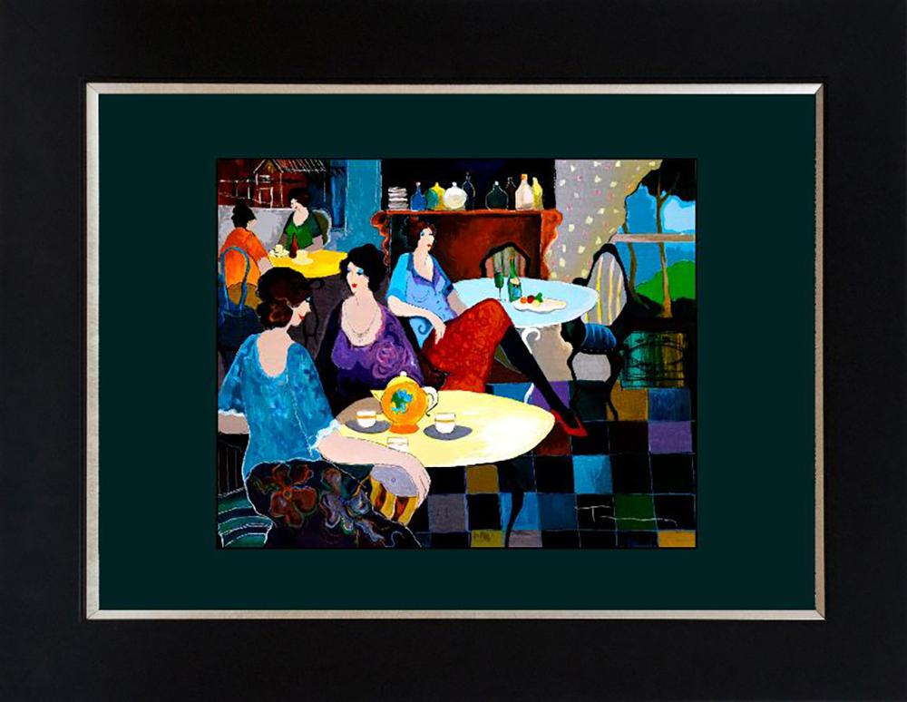 Tarkay Limited Edition  Serigraph on canvas