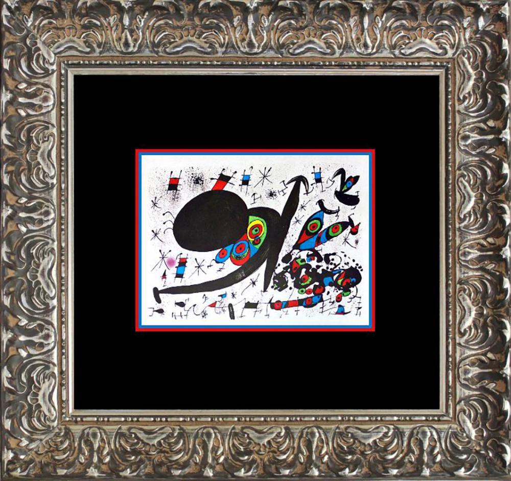 Joan Miro  Lithograph 1968
