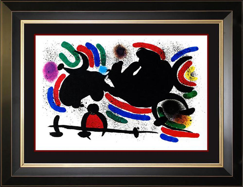 Joan Miro Original Lithograph from 1970  Hand signed