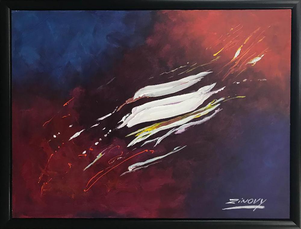 Zinovy Shersher Original on canvas