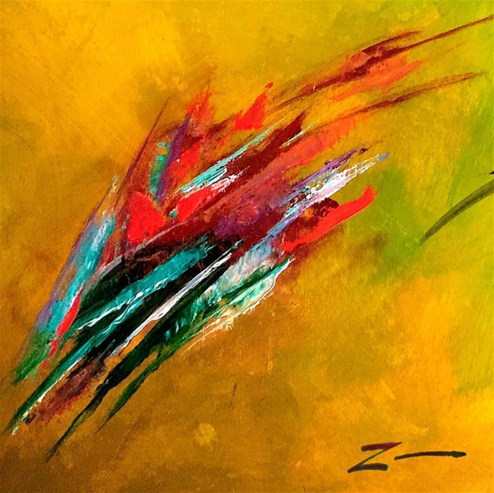 Zinovy Shersher  original on canvas Abstract