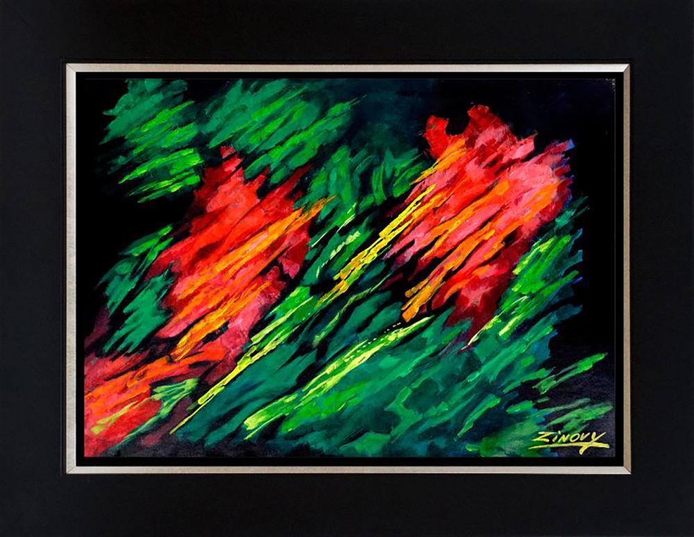 Zinovy Shersher Abstract Original on canvas