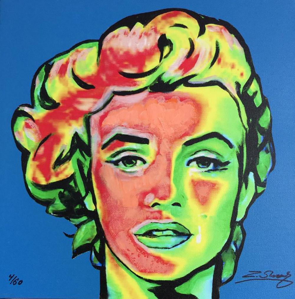 Marilyn Monroe by Zinovy Limited Edition Hand Embellished Giclee on canvas
