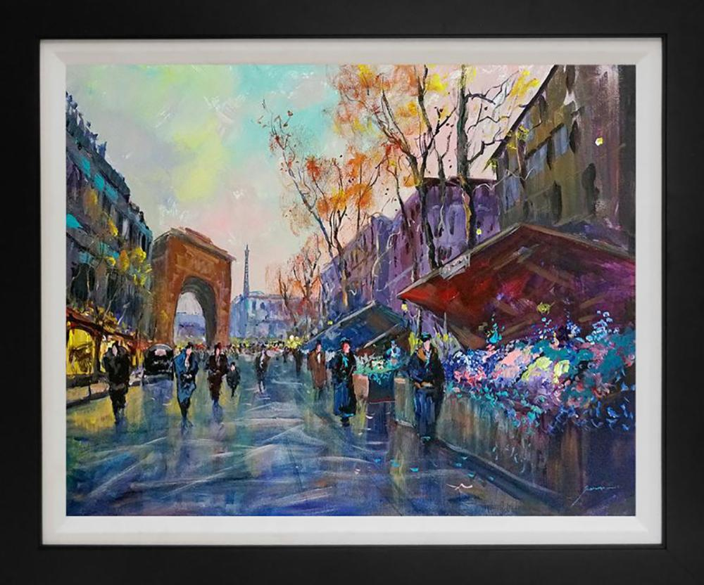 Michael Schofield original on canvas 22x28 Image Approx.