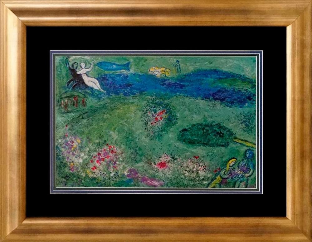 Marc Chagall Lithograph Hand signed