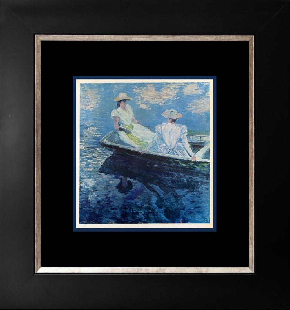 Claude Monet Lithograph from  over 50 years ago