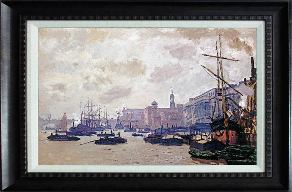Port of London  Claude Monet