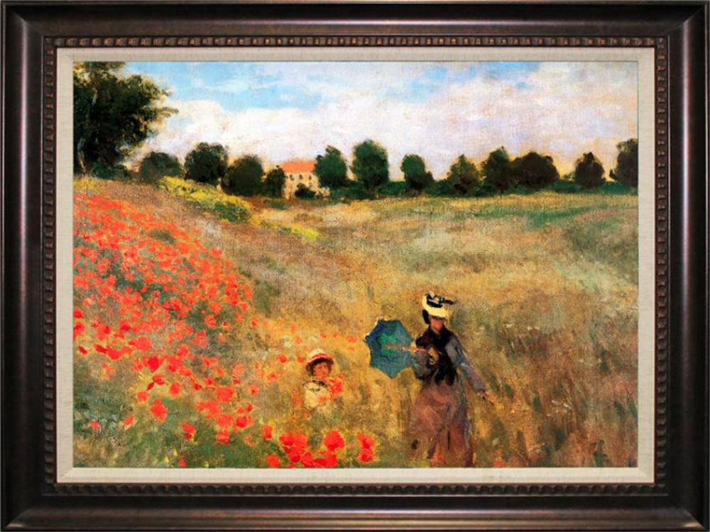 Poppyfield II After Monet. Limited Edition