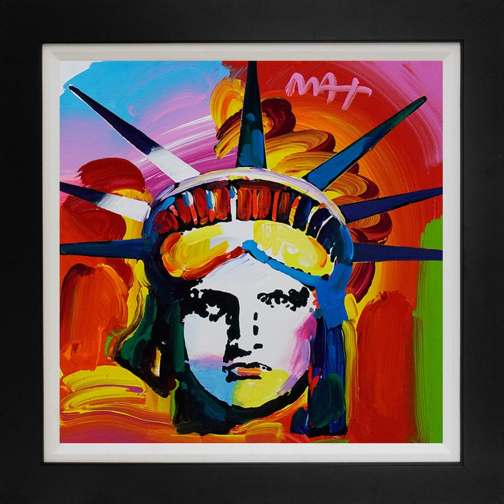 Original canvas by Peter Max