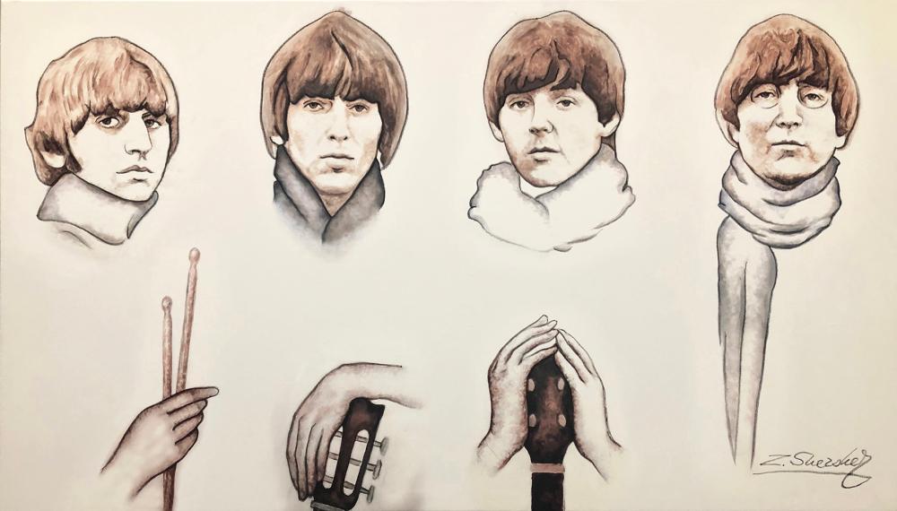 The Beatles original by Zinovy Shersher
