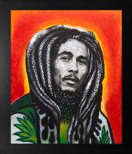 Original on canvas Bob Marley