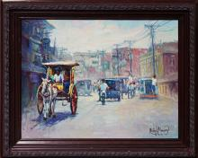 Hand Signed Original Oil on canvas by Rafael