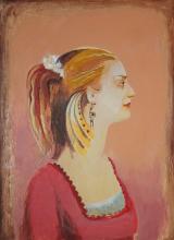 Hand Signed Original Oil on canvas by Rafael Saryan