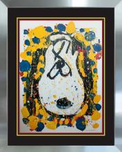 Snoopy by Tom Everhart Original Lithograph Limited Edition Squeeze the Day Wednesday