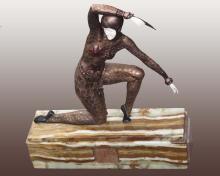 Chiparus Bronze Sculpture