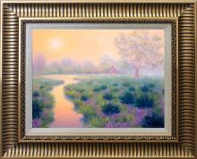 Robert Copple  Sunrise Meadow Original on canvas