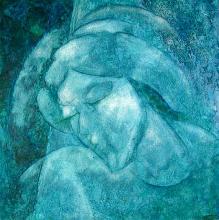 Zinovy Shersher Original oil on canvas Abstract Dream