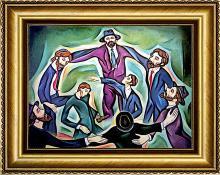 Zinovy Shersher Freilaks Original oil on canvas
