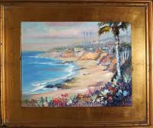 Rafael Original Oil on canvas en Plein Air