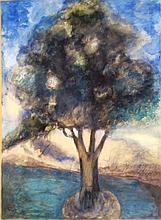 LEO LESSER URY 1861 -1931  Original PASTEL on PAPER