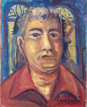 Emiliano Di Cavalcanti Original Oil on canvas  59x40 cm