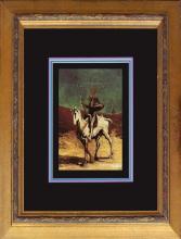 Honore Daumier Canvas Horseman